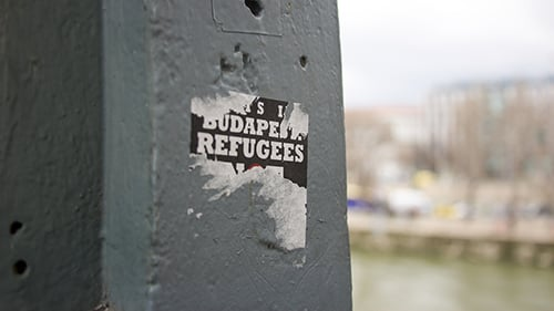 The refugee crisis has created more tension politically within Hungary and in the European Union. (Photo by Rian Bosse)