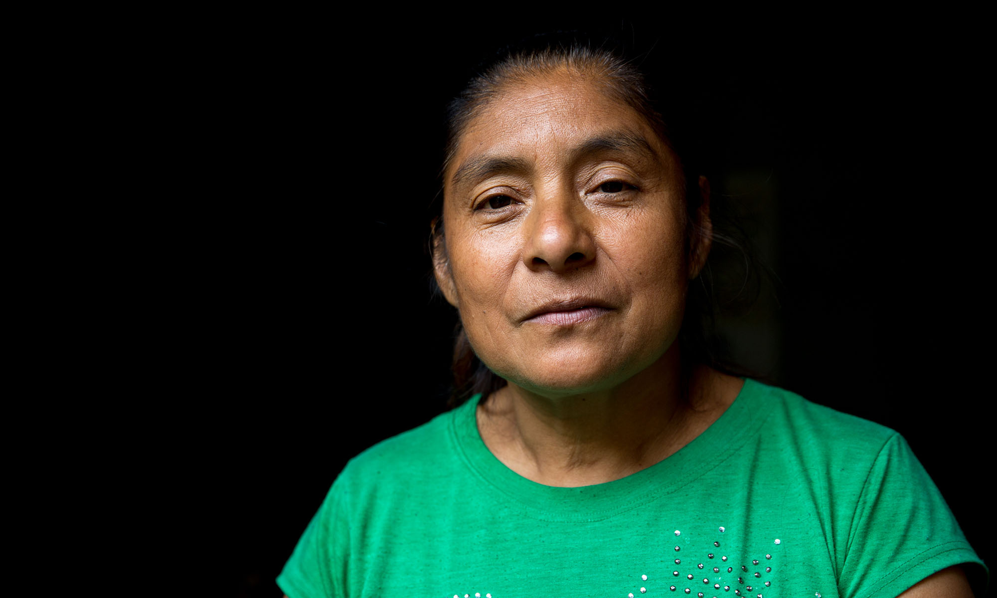 Herlinda Martinez has five children including three daughters living in the United States, but she doesn't know where exactly. They sent money when they first went north but they don't anymore. Mexican immigrants in the U.S. often have immediate family living with them, which can require the bulk of their income. They then send whatever they can spare to relatives in Mexico. (Photo by Courtney Pedroza/Cronkite Borderlands Initiative)