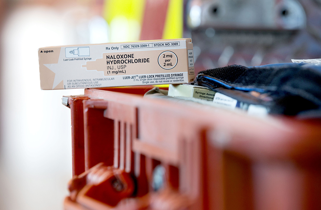 In May, Arizona Gov. Doug Ducey signed a bill into law that allows pharmacists to dispense naloxone, an anti-overdose medication, without a prescription to anyone who can help the person overdosing. Before House Bill 2355, only first responders and medical providers could administer it. (Photo by Ryan Dent/Cronkite News)