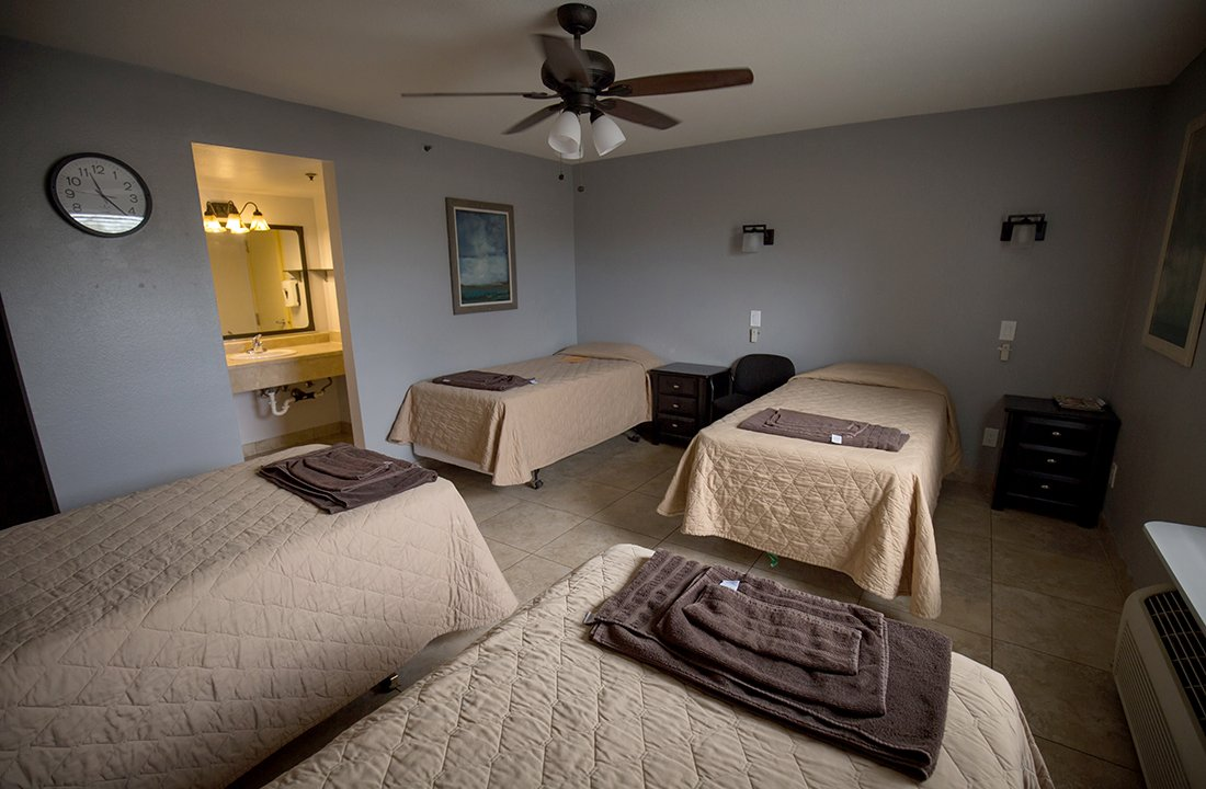 The renovated detox rooms at Valley Hope of Chandler accommodate up to four patients. (Photo by Ryan Dent/Cronkite News)