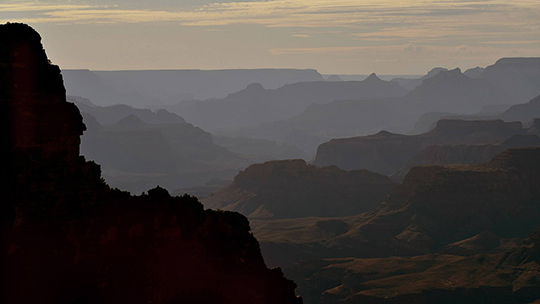 The Grand Canyon South Rim.  (Photo by Isabel Menzel/Cronkite News)