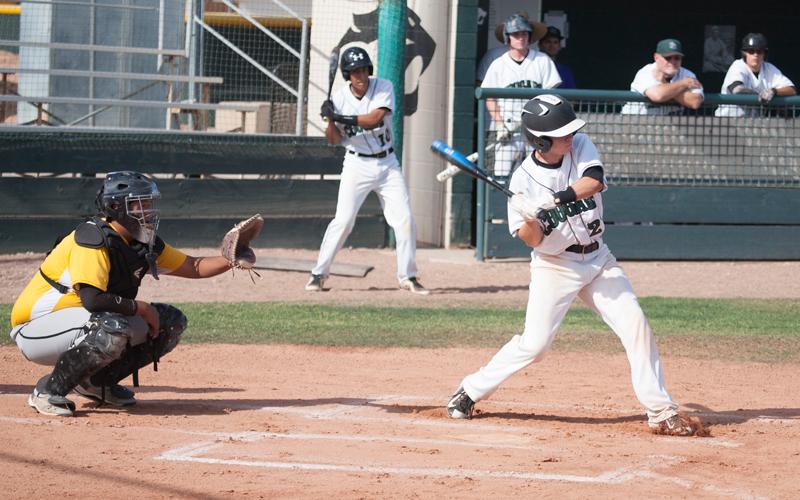 Phoenix Christina shortstop hits baseball