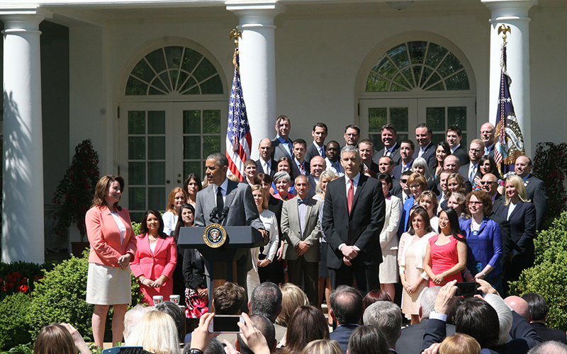 White House honors Mesa teacher, others.