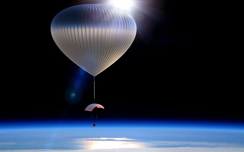 World View plans to start taking passengers to the outermost edge of earth's atmosphere in high-altitude balloons by 2016.