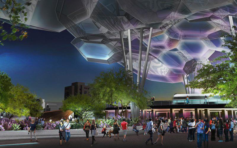 Hance Park rendering photo