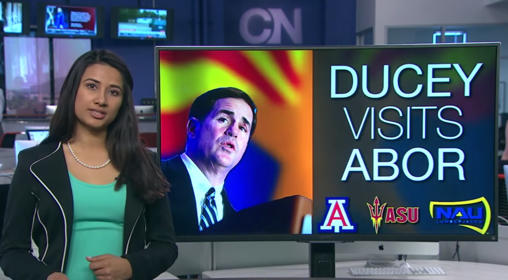 Cronkite News newscast April 9, 2015.