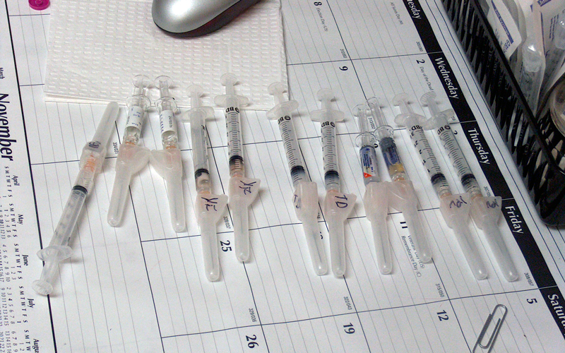 vaccine shots photo