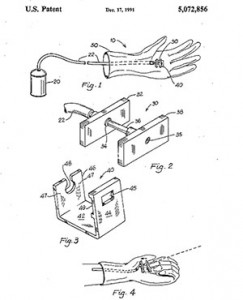 Spider-Man toy patent
