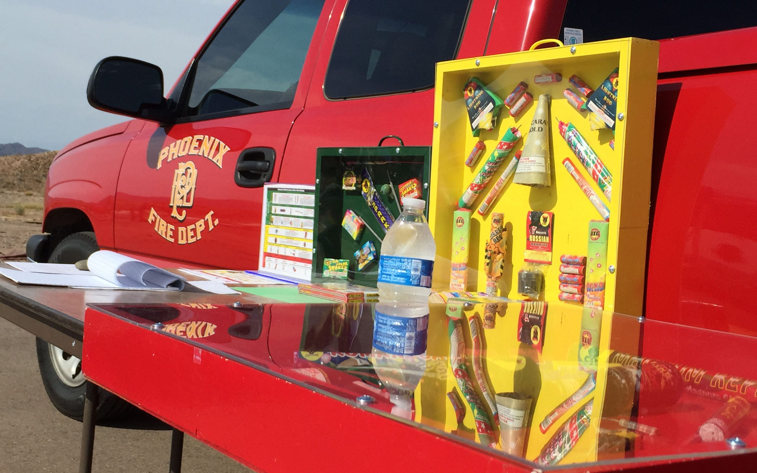 Phoenix Fire Department truck photo