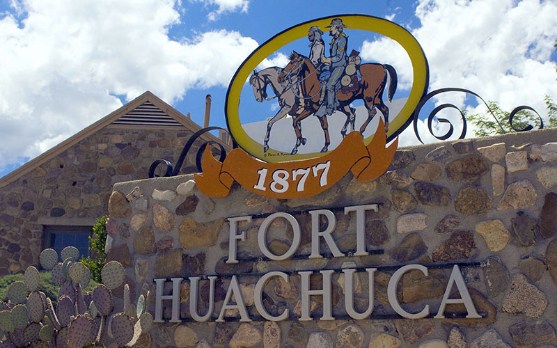 Fort Huachuca is the largest employer in Cochise County, which is why a Pentagon plan to cut 114 jobs there has local officials worries.  (Photo by Staff Sgt. Vanessa Valentine/USAF)