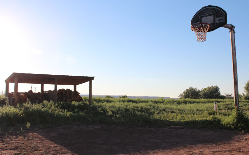 Basketball At Breakneck Pace Way Of Life On Navajo Reservation