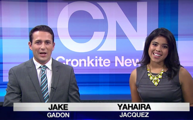 Cronkite News newscast photo