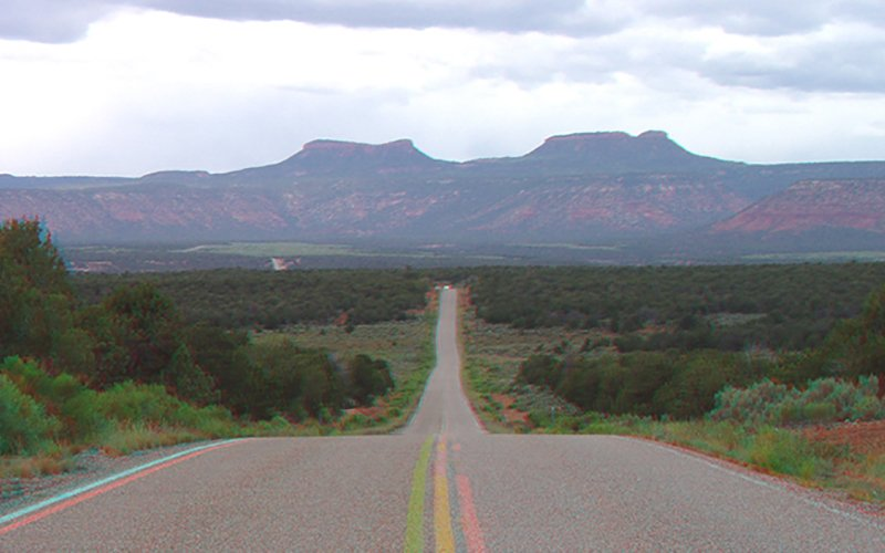 The two buttes of the Bears Ears, near the Natural Bridges National Monument in southeastern Utah. Tribal groups want 1.9 million acres around Bears Ears preserved as a national monument. (Photo courtesy the U.S. Geological Survey)