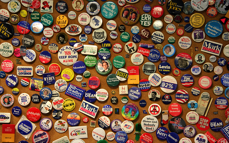 Traditional campaign materials are a tiny part of the cost of running for office. Consultants' fees were the biggest part of the $5.5 million already spent on 2016 congressional races in Arizona. (Photo by J. Gregory Barton via flickr/Creative Commons)