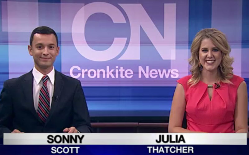 Cronkite News anchors photo