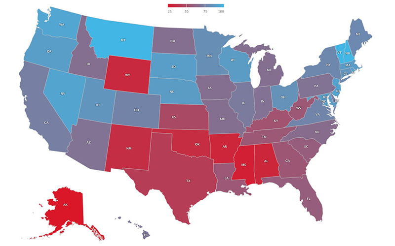 Map Of Arizona Hospitals.Arizona Hospitals Do Well On Palliative Care Report Card Could Do
