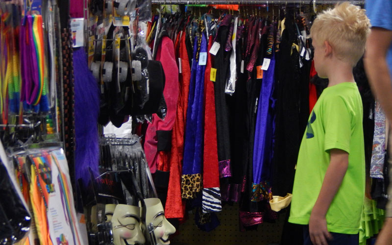 $950 million is expected to be spent on kids costumes alone according to the National Retail Federation. (Photo by Erin Johnson/Cronkite News)