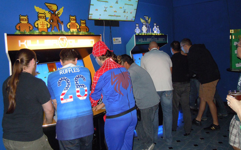 Arcade bar growth turns Valley into multiplayer arena