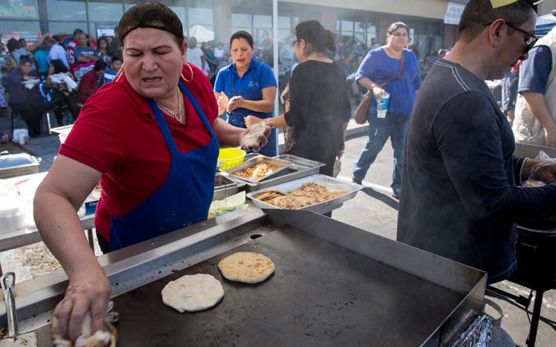 Popularity of El Salvador's pupusas celebrated at Arizona ...Salvadoran Pupusas On Indian School