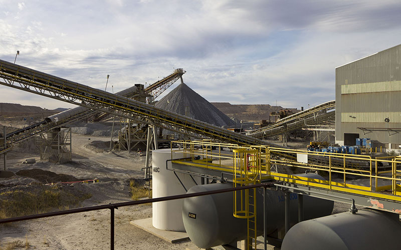 Part of the Asarco mining and smelting complex near Hayden. The company will fund as much as $150 million in pollution-control upgrades as part of a settlement with the government. (Photo by Jeffrey M. Rzeszotarski via flickr/Creative Commons)