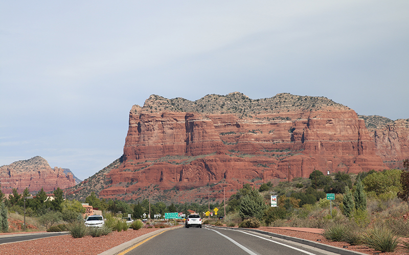 Red Rocks outside of the Village of Oak Creek. (Photo by Erin Johnson/Cronkite News)