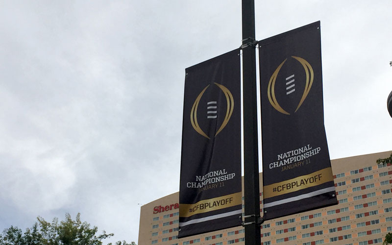 College Football playoff photo