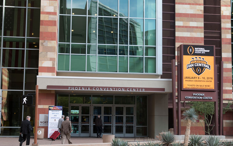 College Football Playoff Will Turn Downtown Phoenix Into