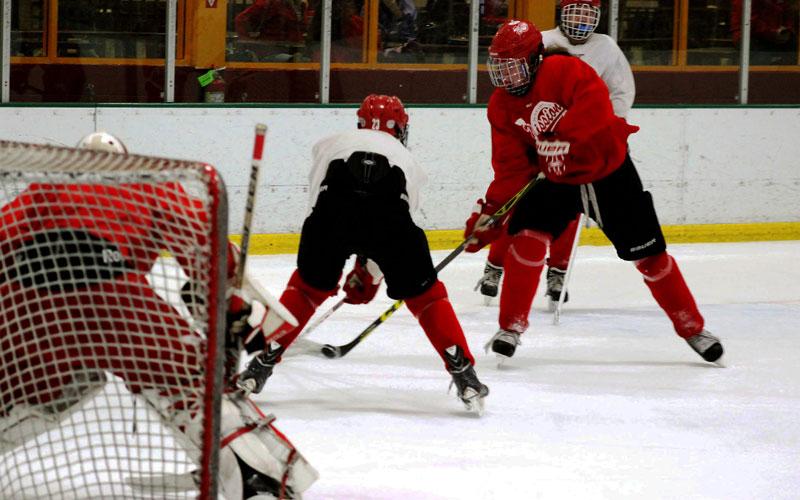 Youth hockey photo