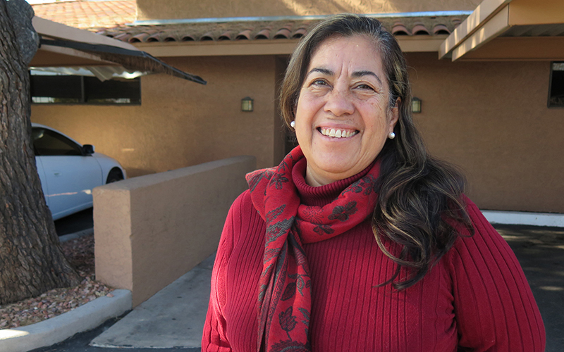 Rosa Maria Soto, 62, moved from Hermosillo, Mexico to the United States in 1999. She could qualify for the Deferred Action for Parents of Americans program. (Photo by Miguel Otárola/Cronkite News)