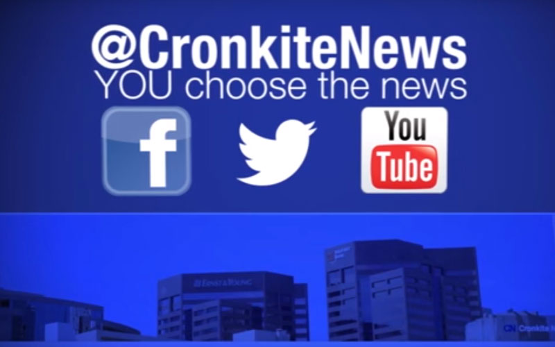 Cronkite News Refresh icon