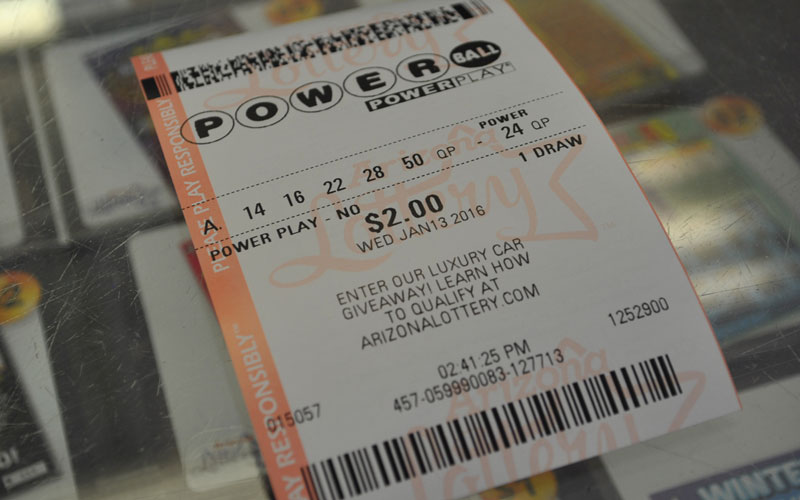 Tickets to the $1.5 billion Powerball jackpot cost only $2.(Photo by Stacia Affelt/Cronkite News)