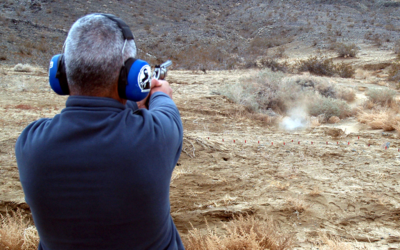 Environmentalists worry that target shooting could trash sensitive areas of the desert, but gun enthusiasts say there's a place for responsible shooters.