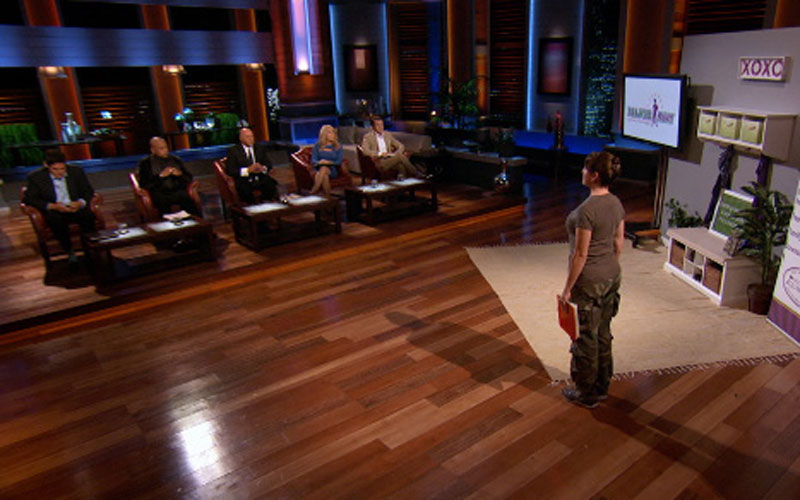 Photo of Shark Tank set