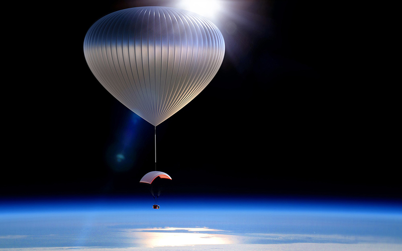 World View plans to start taking passengers to the outermost edge of earth's atmosphere in high-altitude balloons by 2018. (Photo courtesy of World View)
