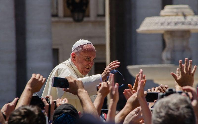Pope Francis via Wikimedia Commons