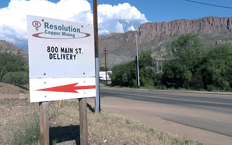 Resolution Coppper Co. would give the federal government more than 5,300 acres in several areas of southeast Arizona in exchange for more than 2,400 acres it wants to mine near Superior, in Pinal County.
