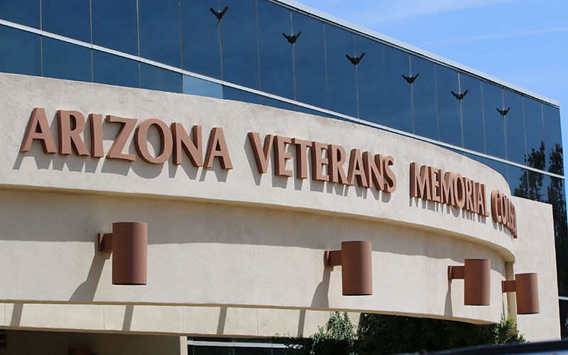Arizona Veterans Memorial Coliseum was home for the Phoenix Suns for their first 26 years (Photo by Jake Gadon/Cronkite News)