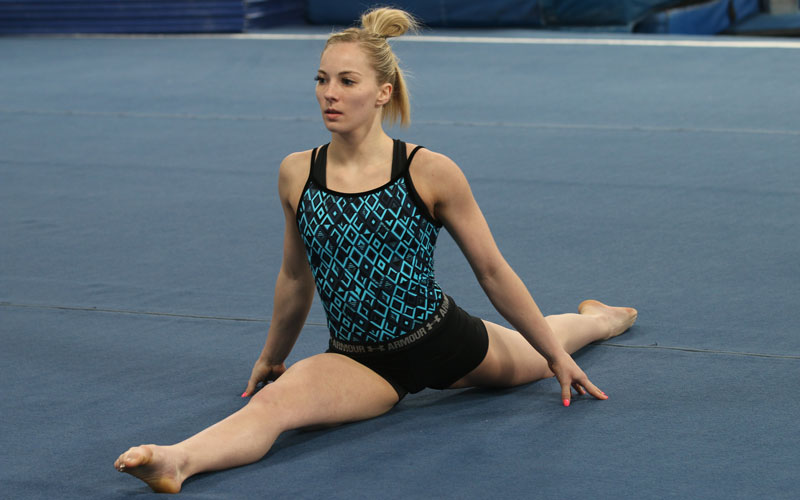 Skinner is looking to take the final step to a berth on the U.S. women's gymnastics team at the Olympic Trials in June in San Jose, California.