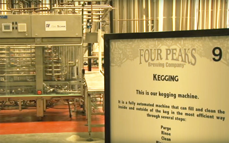 After being sold to Anheuser Busch, Four Peaks Brewery will be expanding it's operation beyond Arizona. The brewery had rejected offers in past but felt now was the right time expand. (Photo by Nick Pope/Cronkite News)