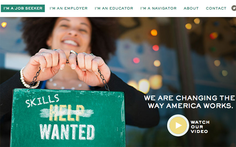 Skillful helps employers find potential employees with the necessary skills, even if they don't have a college degree. The new platform will match job seekers' skills with potential employers. (Photo courtesy of Skillful)