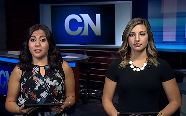 Cronkite news anchors report the consumer newscast on May 27, 2016.