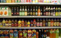 soda on shelves