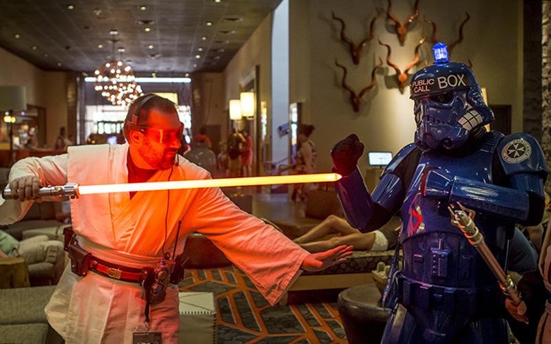 jedi versus tardis stormtrooper