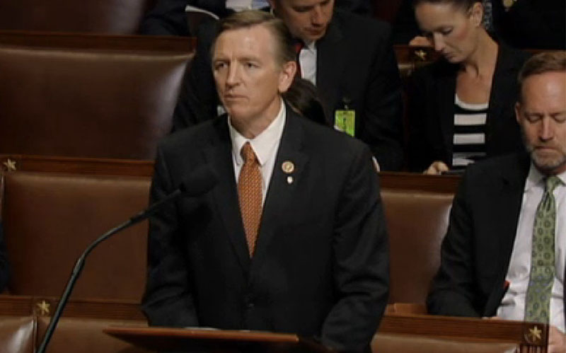 Rep. Paul Gosar, R-Prescott, said he would continue to fight for his proposal to prohibit undocumented immigrants from serving in the military, after it was narrowly defeated in the House. (Photo courtesy Clerk of the House)