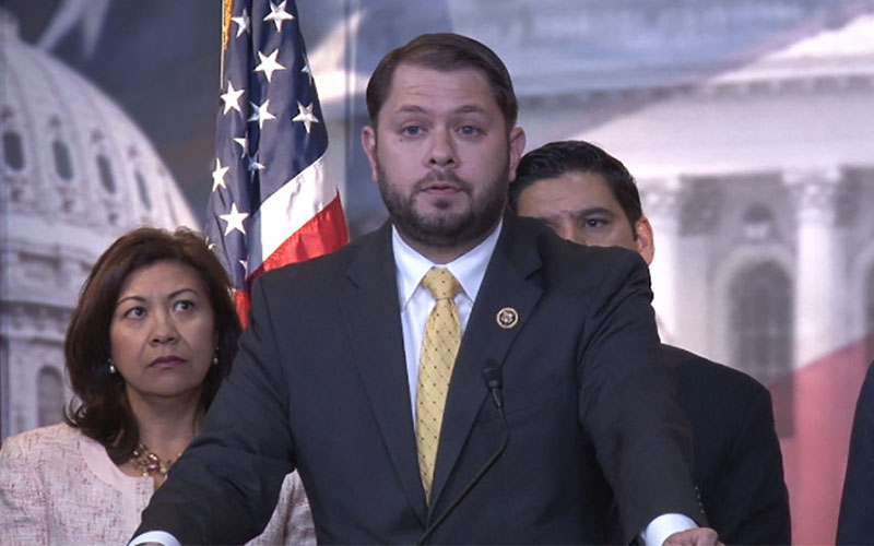 "A proposal to keep undocumented immigrants from serving in the military is ""anti-immigrant, partisan posturing,"" said Rep. Ruben Gallego, D-Phoenix. (Photo by Wafa Shahid/Cronkite News)"