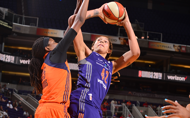 brittney griner against opponent