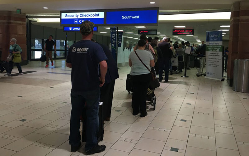 A TSA spokesman said it is not unusual to shuffle officers between airports, and Phoenix Sky Harbor International Airport should not see a change in delays after the redeployment of 27 officers there.