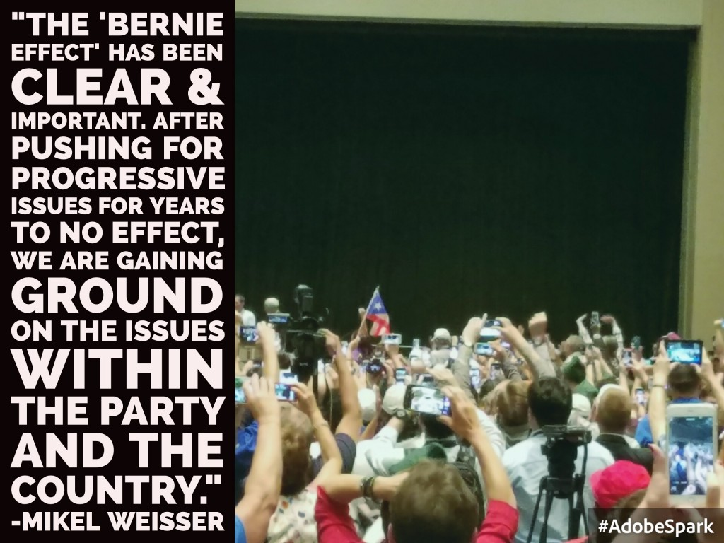Photo courtesy of Mikel Weisser, AZ Democratic delegate.