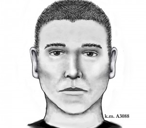 Phoenix police released a sketch of the man they believe is the Maryvale serial shooter. (Photo courtesy of Phoenix Police Department).