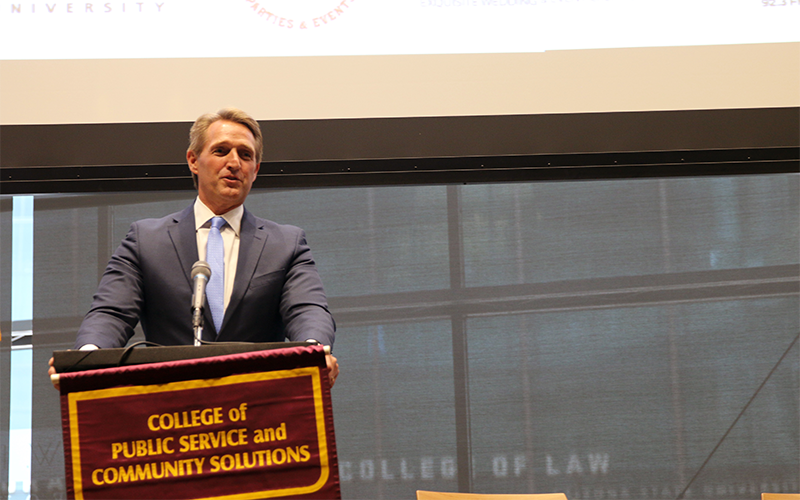 Sen. Jeff Flake at Arizona State